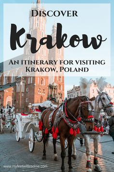 Krakow, Poland embodies the ideal European city with its cobblestone streets, colorful medieval buildings, and quaint cafes. And although there are crowds, the masses have yet to discover Krakow as a major European hot spot. Travel Tips For Europe, Backpacking Europe, Travel Destinations, Holiday Destinations, European Destination, European Travel, Poland Cities, Visit Krakow, Visit Poland
