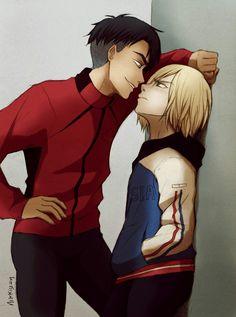 Yurio and JJ