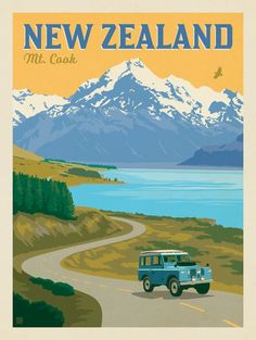 Anderson Design Group – World Travel – New Zealand: Mount Cook