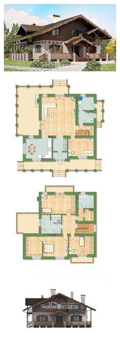 Ev villa projesi 250-003-R | House Expert