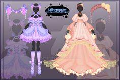 [Close]  Adoptable Outfit Auction 30-31 by LifStrange.deviantart.com on @DeviantArt