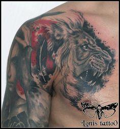 Lion Tattoo by Lonis Tattoo Studio