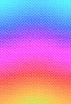 Rainbow pattern  on We Heart It