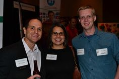 Brett Baker, Lisa Johnson and Nicholi Simmons at Business After Hours.
