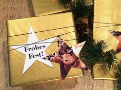 Du hast alle Geschenke für das Fest beisammen? Dann musst du sie nur noch toll einpacken! Michaela von Hello Mime zeigt dir bei Pixum eine tolle Idee für schöne Foto-Geschenkanhänger.