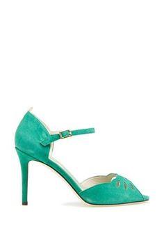 Gorgeous, flirty peep toe by SJP.