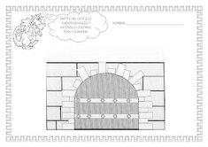 ESOS LOCOS BAJITOS DE INFANTIL: MAS FICHAS DEL PROYECTO LOS CASTILLOS Floor Plans, Castles, Cardboard Castle, Medieval Castle, Note Cards, Middle Ages, Floor Plan Drawing, House Floor Plans