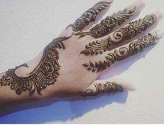 stylish beautiful full hand mehndi designs 11