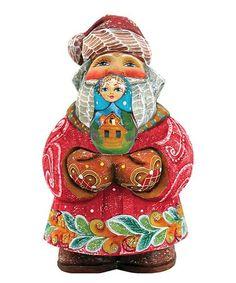 Look at this #zulilyfind! Santa Matreshkan Doll Gift Expressions Ornament #zulilyfinds
