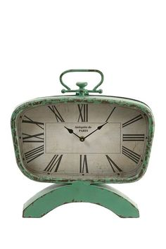 Retro Clock by Revamp With Vintage Accents on @HauteLook