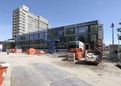 Voortgang bouw op 21 mei 2015