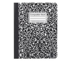 Office Depot Quad Composition Book 9 34 x 7 12 Quadrille Ruled 80 Sheets - Office Depot Office Depot, Christmas Coal, Black Marble, Notebook, Notes, Messages, Writing, Composition Books, Childhood