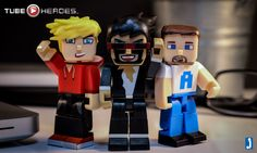 Tube Heroes ‪#‎FlashbackFriday‬! Lachlan, CaptainSparklez, and Ali-A
