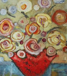 The Love of Flowers - 1900 floral paintings, 50 artists Mixed Media Canvas, Happy Mothers Day, Van Gogh, Special Gifts, Contemporary Art, Illustration Art, Flower Drawings, Floral Paintings, Coups
