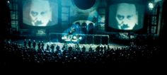 Big Brother in Michael Radford's 1984 film adaptation of George Orwell's Nineteen Eighty-Four