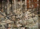 Guglielmo Sansoni (Tato) 1896-1974 Fontana di Trevi