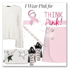 """I Wear Pink for...hope"" by andrejae ❤ liked on Polyvore featuring Marni, The Row, Marc Jacobs, Gucci, Napier and IWearPinkFor"