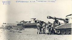 Tropas españolas en guardia ante la Marcha Verde el 8 de noviembre de 1975
