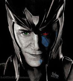Part Asgardian Part Jotun All sexy