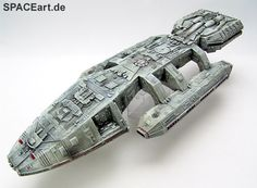 Battlestar Galactica: Galactica Display Model, Fertig-Modell…