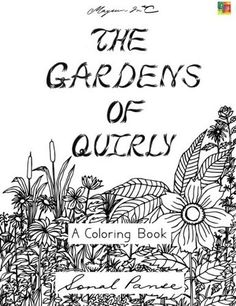The Gardens of Quirly by Sonal Panse - Colour with Claire Colouring Book Review