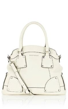 gorgeous stone white tote. I need a bag like this.