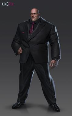 Kingpin (Wilson Fisk) from Spider-Man (PS4)