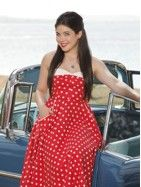 """Grace Phipps stars in """"Teen Beach Movie"""" as Lela, the classic 60s biker star of Wet Side Story, the movie Mack and Brady find themselves trapped in. #TeenBeachMovie"""