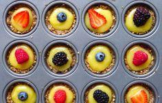 Gluten-Free, Grain-Free, Dairy-Free No-Bake Summer Pie Minis