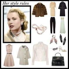 """""""Grace Kelly"""" by ivanamb on Polyvore"""