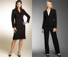 For women, which would you normally wear to an interview:    a) a skirted suit  b) a pantsuit    We love to know so hit the comment button! Share to your friends and know what they think as well!