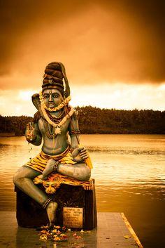 "Visit the Sacred Lake of Grand Bassin while you stay at Shanti Maurice in Mauritius. Shiva Shiva ""The Auspicious One"" is a popular Hindu deity and considered the Supreme God within Shaivism, one of the three most influential denominations in Hinduism. Shiva Linga, Shiva Shakti, Hindu Deities, Hinduism, Lord Shiva Hd Images, Lord Shiva Family, Bhakti Yoga, Shiva Wallpaper, Om Namah Shivaya"