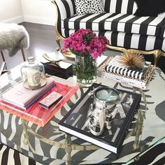 """Filmed a """"Coffee Table Style/Decor"""" video yesterday. Would you guys be interested in seeing this?"""