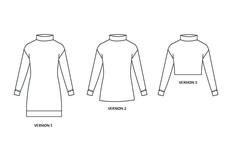 Nina Lee Southbank Sweater V1-3 line art