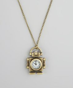 Because a robot watch necklace is pretty awesome.
