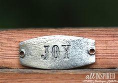 .Love the word JOY