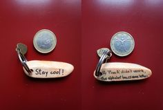 Stay cool - Keyring