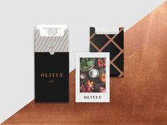 Olivia Bistró para Bunker3022 on Behance