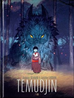 Couverture de Temudjin - Tome 1
