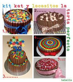 KIT KAT Nestlé, cake--all kinds of ideas!
