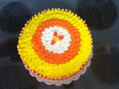 Candy Corn Cake I copied from another pin.