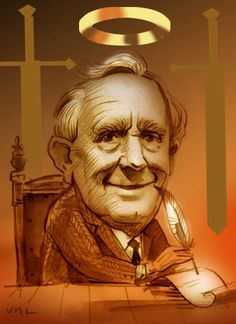 J. R. R. Tolkien (1892-1973) best known as the author of the classic high fantasy works The Hobbit, The Lord of the Rings, and The Silmarillion.