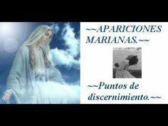Apariciones Marianas. Puntos de discernimiento.