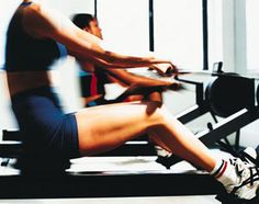 Cardio Workout: Rowing Machine--I LOVE the rowing machine! My new favorite cardio workout!