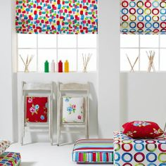 Have some fun when choosing fabrics for your children's bedrooms
