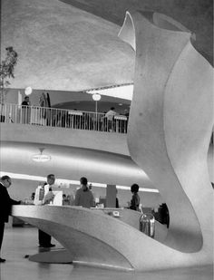 TWA Terminal at JFK Airport, Eero Saarinen, New York, NY, 1962