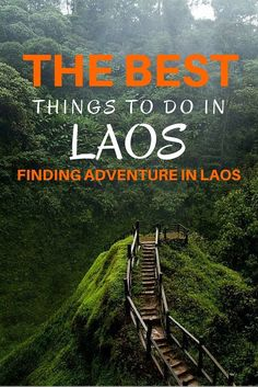 Laos is making a name for itself as a destination for thrill-seekers and adventurers, with many activities centered around the scenic area of Vang Vieng. If you're heading to Laos in search of adventure, here are some activities you might want to try.