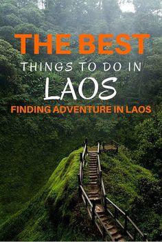 Laos está haciendo un nombre por sí mismo como un destino para los amantes de la adrenalina y aventureros, con muchas actividades centradas alrededor de la zona turística de Vang Vieng. Si se dirige a Laos en busca de aventuras, aquí hay algunas actividades que usted puede tratar de hacer.