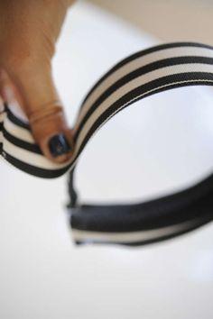 Grosgrain Ribbon Headband #DIY #Christmas #Gifts