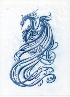 This is a re-imagining of the phoenix tattoo done by ~Saki-BlackWing I intend to tattoo this on my own back, so please do not use it for your own. I've created something origina...